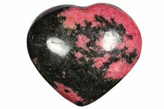 Rhodonite with Manganese Oxide - Fossils For Sale - #126768