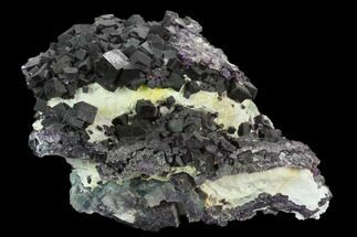 Fluorite  - Fossils For Sale - #128586