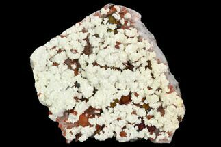 "3.3"" Quartz, Dolomite and Chalcopyrite Association - China For Sale, #128801"