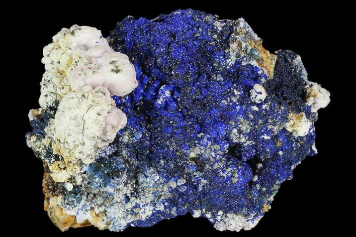 "2.2"" Sparkling Azurite and Malachite Crystal Cluster - Morocco"