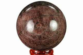 "Buy 2.3"" Polished Garnetite Sphere - Madagascar - #132112"