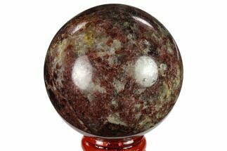 "Buy 2.3"" Polished Garnetite Sphere - Madagascar - #132124"