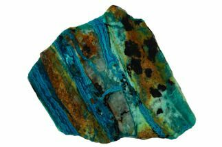 Chrysocolla & Malachite - Fossils For Sale - #133611