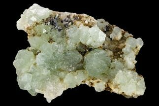 "Buy 3.1"" Fluorite with Manganese Inclusions on Quartz - Arizona - #133660"