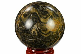 "Buy 1.95"" Polished Stromatolite (Greysonia) Sphere - Bolivia - #134719"