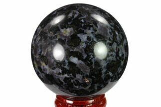 "Buy 2.1"" Polished, Indigo Gabbro Sphere - Madagascar - #135772"