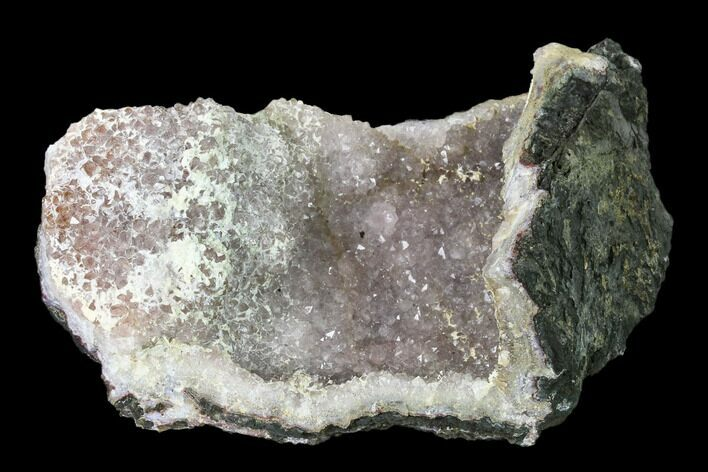 "7.5"" Quartz Crystal Geode Section - Morocco"
