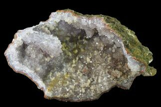 "Buy 8"" Quartz Crystal Geode Section - Morocco - #136936"
