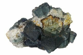 Fluorite & Quartz - Fossils For Sale - #139173