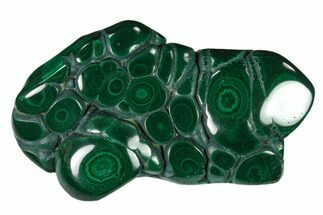 "4"" Polished Malachite Specimen - Congo For Sale, #140195"