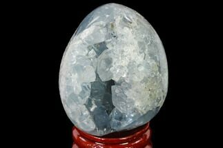 "Buy 1.95"" Crystal Filled Celestine (Celestite) ""Egg"" Geode - Madagascar - #140287"