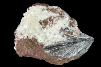 Pyrolusite & Quartz - Fossils For Sale - #140994