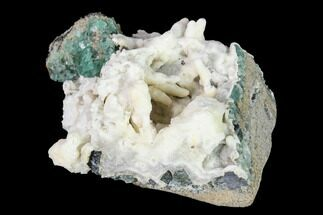 "2.7"" Aragonite Encrusted Fluorite Crystal Cluster - Rogerley Mine For Sale, #143072"