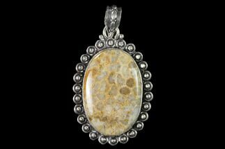 Buy 20 Million Year Old Fossil Coral Pendant - Indonesia - #143698