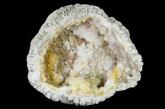 "Buy 7.9"" Keokuk Quartz Geode Half - Iowa - #144790"
