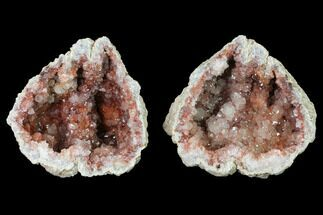 "5""  Keokuk Quartz Geode (Heat Treated) - Iowa For Sale, #144743"