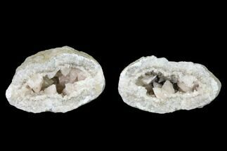 "Buy 2.9"" Scalenohedral Calcite Lined Keokuk Geode - Illinois - #144706"