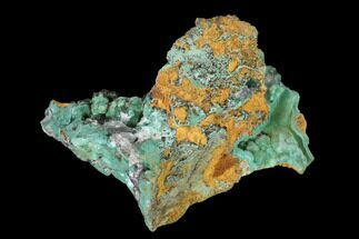 "2.7"" Malachite and Calcite Association - Zacatecas, Mexico For Sale, #144227"