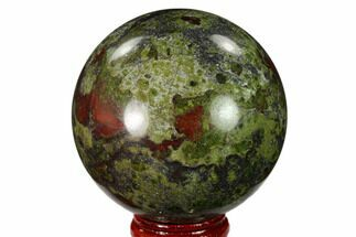 "Buy 2.4"" Polished Dragon's Blood Jasper Sphere - South Africa - #146074"
