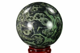 "4.15"" Polished Kambaba Jasper Sphere - Madagascar For Sale, #146066"