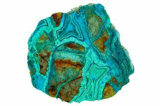 Chrysocolla & Malachite - Fossils For Sale - #146505