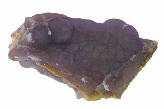 "Buy 3.1"" Botryoidal Purple Fluorite - China - #146623"