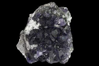 Fluorite & Quartz - Fossils For Sale - #147072