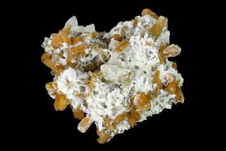 Stilbite & Calcite - Fossils For Sale - #148401