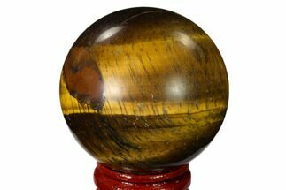 "Buy 1.95"" Polished Tiger's Eye Sphere - Africa - #148894"