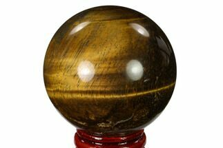 "Buy 2.1"" Polished Tiger's Eye Sphere - Africa - #148912"