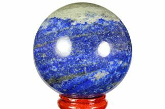 "2.2"" Polished Lapis Lazuli Sphere - Pakistan For Sale, #149360"