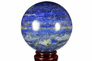 "3.25"" Polished Lapis Lazuli Sphere - Pakistan For Sale, #149372"
