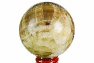 "Buy 2.7"" Polished Chocolate Calcite Sphere - Pakistan - #149521"