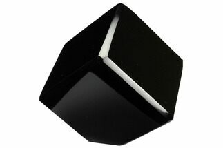"1 3/4"" Polished, Obsidian Cubes For Sale, #151406"