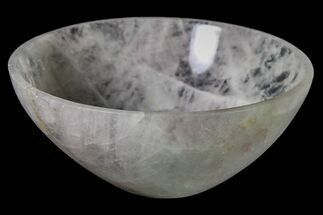 "3"" Polished Rose Quartz Bowl For Sale, #153197"