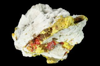 "Buy 1.22"" Yellow Orpiment with Realgar - Crven Dol Mine, Macedonia - #153340"