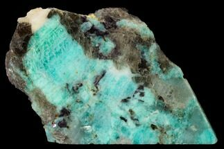 Microcline var. Amazonite, Lepidolite & Quartz var. Smoky - Fossils For Sale - #152202