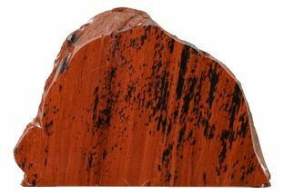 "4.6"" Polished Mahogany Obsidian Section - Mexico For Sale, #153569"