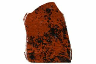 "4.3"" Polished Mahogany Obsidian Section - Mexico For Sale, #153578"