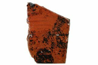"4.5"" Polished Mahogany Obsidian Section - Mexico For Sale, #153581"