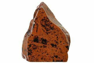 "4.8"" Polished Mahogany Obsidian Section - Mexico For Sale, #153593"