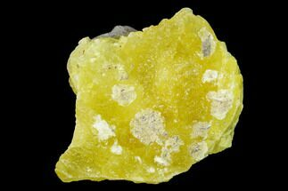 "1.3"" Lemon-Yellow Brucite - Balochistan, Pakistan For Sale, #155201"