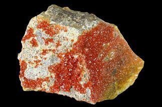 Vanadinite & Dolomite - Fossils For Sale - #155412