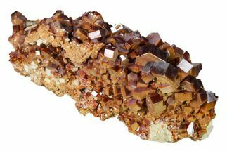 "4.5"" Deep Red Vanadinite Crystal Cluster - Huge Crystals! For Sale, #157046"