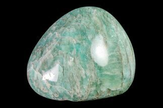 "2.1"" Polished Graphic Amazonite Pebble For Sale, #158408"
