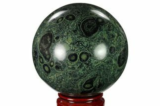 "Buy 4.05"" Polished Kambaba Jasper Sphere - Madagascar - #158608"