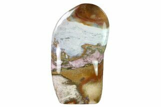 "Buy 7.25"" Colorful, Free-Standing, Polished Jasper - Madagascar - #159079"