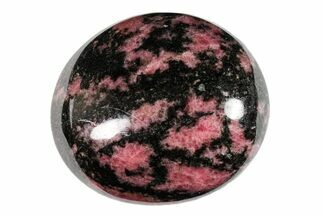 "2.5"" Polished Rhodonite Pebble For Sale, #158687"
