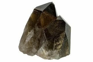 "Buy 2.7"" Dark Smoky Quartz Crystal Cluster - Brazil - #159610"