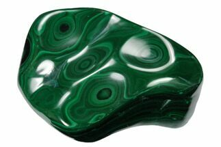 "Buy 3.65"" Beautiful, Polished Malachite Specimen - Congo - #159862"